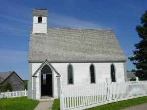Canadian small town church