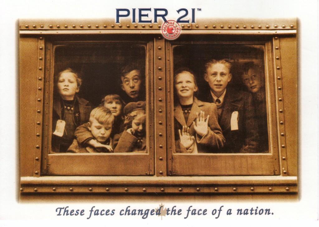 Pier 21 Postcard